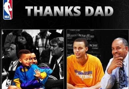 北京时间6月22日,正值父亲节之际,包括斯蒂芬-库里、约翰-沃尔和保罗-乔治等在内的众多NBA球星都通过社交媒体向他们以及全天下的父亲们致以节日的问候。 斯蒂芬-库里:祝所有的父亲父亲节快乐。没有比父亲的责任还要更好的恩赐。今天早晨6点15分我就醒了过来,因为一个2岁的小孩(库里的女儿莱莉)一直踢我的后背。我的小女孩有一种很有感染力的精神并让我能够去感谢一切事物。感谢所有我认识的父亲,包括我在内,他们为我树立了一个榜样,我只能请求上帝让我为他们做同样的事情。 约翰-沃尔:祝所有的父亲节日快乐,享受属于你