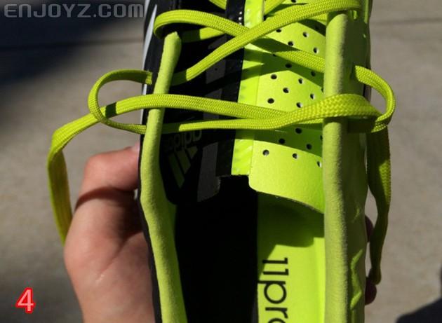 足球鞋鞋带的完美绑法